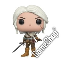Ciri The Witcher POP! Vinyl Figur (10 cm) (Merchandise)
