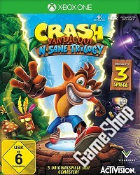 Crash Bandicoot N Sane Trilogie (Xbox One)
