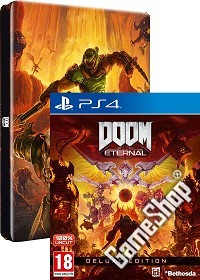 DOOM Eternal Deluxe Steelbook Bonus Edition uncut (PS4)