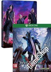 Devil May Cry 5 Steelbook Edition uncut (Xbox One)