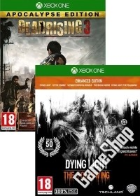 Double uncut Zombie Feature Vol. 3: Dying Light TF Enhanced + Dead Rising 3 (Xbox One)