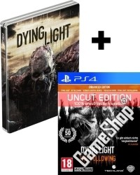 Dying Light Teil 1 + The Following Enhanced AT Edition uncut + Steelbook (PS4)