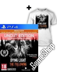 Dying Light Teil 1 + The Following Enhanced AT Edition uncut + T-Shirt (L)