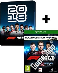F1 (Formula 1) 2018 [Steelbook Headline Edition] (Xbox One)
