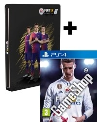 FIFA 18 Limited AT PEGI Steelbook Edition inkl. 14 Bonus DLCs