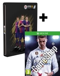 FIFA 18 Limited AT PEGI Steelbook Edition inkl. 14 Bonus DLCs (Xbox One)