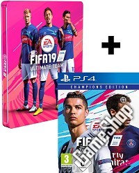 FIFA 19 Limited Champions Steelbook Edition (PS4)