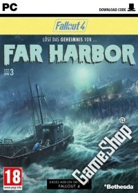 Fallout 4 DLC 3 Far Harbor (Boxed Add-on)