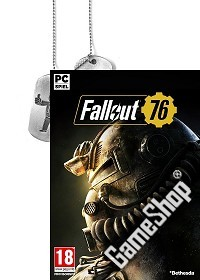 Fallout 76 D1 Bonus uncut + BETA Vorabzugang + Dog Tag + Trolley Token (PC)