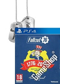 Fallout 76 Limited Tricentennial Edition uncut + BETA Vorabzugang + Dog Tag + Trolley Token (PS4)
