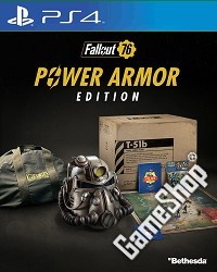 Fallout 76 Power Armor Collectors Edition uncut (CH Import) (PS4)