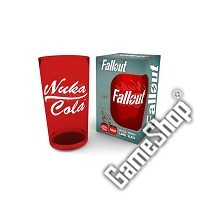Fallout Nuka Cola Rot Glas (Merchandise)