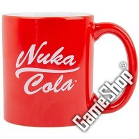 Fallout Nuka Cola Rot Tasse (Merchandise)