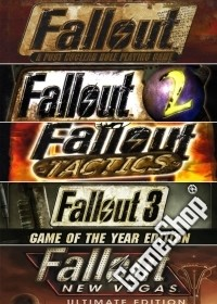 Fallout 1, 2, 3 GOTY, Tactics + New Vegas uncut Collection Pack