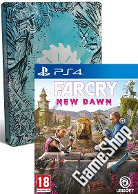 Far Cry New Dawn Limited Steelbook Edition uncut (exklusiv) inkl. Bonus (PS4)