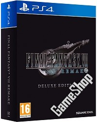 Final Fantasy VII Remake (Final Fantasy 7) Deluxe Edition (CH Import) (PS4)