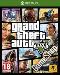 GTA 5 - Grand Theft Auto V Bonus uncut (Xbox One)