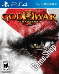 God Of War 3 Remastered 100% US uncut (PS4)