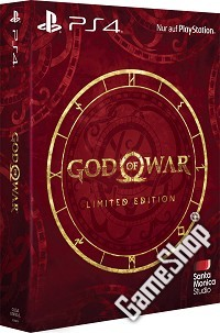 God Of War 4 Limited Edition EU import uncut