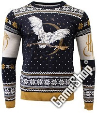Harry Potter Hedwig Xmas Pullover (M) (Merchandise)