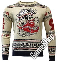 Harry Potter Hogwarts Express Xmas Pullover (M) (Merchandise)