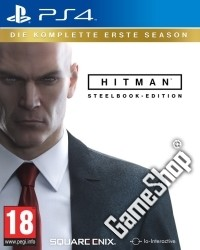 Hitman: die komplette erste Season AT D1 Steelbook Edition uncut inkl. 15 Boni