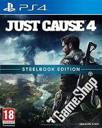 Just Cause 4 Limited Steelbook Edition uncut (exklusiv) (PS4)