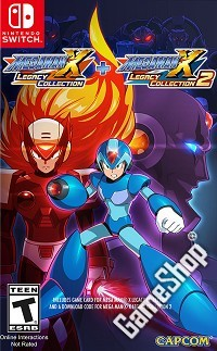 Mega Man X Legacy Collection 1 + 2 US Edition (Nintendo Switch)