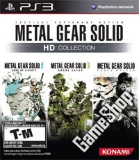 Metal Gear Solid HD Collection US uncut (PS3)