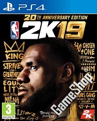 NBA 2K19 20th Anniversary Edition inkl. Early Access (PS4)