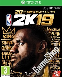 NBA 2K19 20th Anniversary Edition inkl. Early Access (Xbox One)