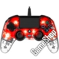 Nacon PS4 Controller Light Edition (red)