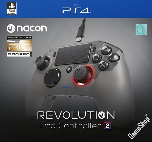 ps4 nacon ps4 revolution pro controller 2 rig limited. Black Bedroom Furniture Sets. Home Design Ideas