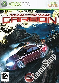 Need for Speed Carbon classic uncut - Cover beschädigt (Xbox360)