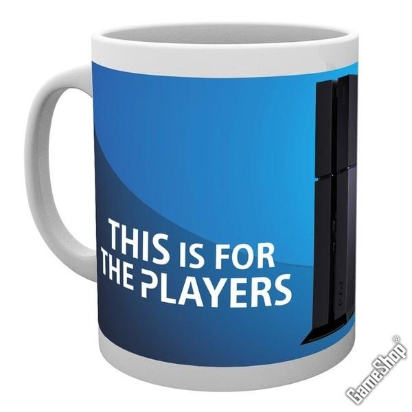 merchandise ps4 players tasse. Black Bedroom Furniture Sets. Home Design Ideas
