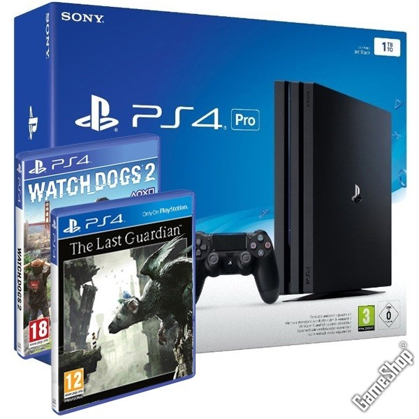 playstation 4 pro konsole watch dogs 2 the last. Black Bedroom Furniture Sets. Home Design Ideas