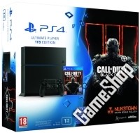 PlayStation 4 (PS4) Konsole 1 TB Ultimate Player Edition + Call Of Duty Black Ops 3