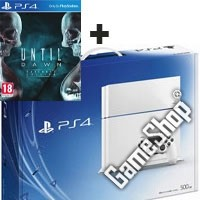 PlayStation 4 (PS4) Konsole White + Until Dawn