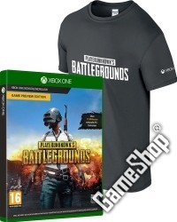 PlayerUnknowns Battlegrounds (Code in a Box) uncut + T-Shirt (L)