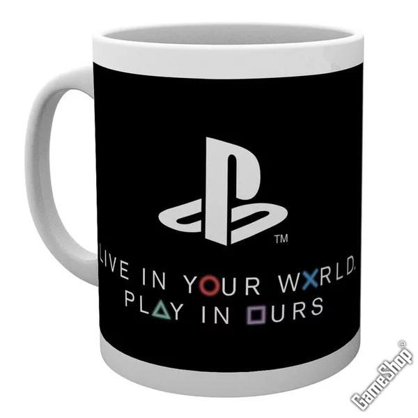 playstation world tasse merchandise bei kaufen. Black Bedroom Furniture Sets. Home Design Ideas