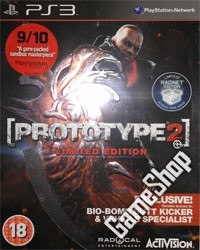 Prototype 2 Limited Bio-Bomb Butt Kicker Edition uncut