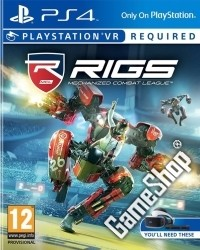RIGS: Mechanized Combat League VR - Cover beschädigt