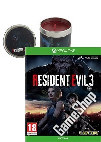 Resident Evil 3 uncut + Zombie Candle (4D Kerze) Limited Edition (Xbox One)
