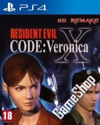 Resident Evil Code Veronica X uncut (PS4)