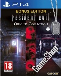 Resident Evil Origins Collection uncut + Dog Tag