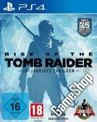 Rise of the Tomb Raider 20 Year Celebration Bonus uncut - Cover beschädigt (PS4)