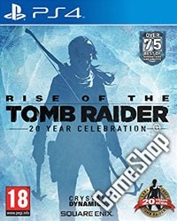 Rise of the Tomb Raider 20 Year Celebration  uncut Bonus (PS4)