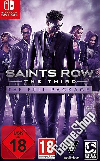 Saints Row 3: The Third - The Full Package Deluxe Pack Edition uncut (Nintendo Switch)
