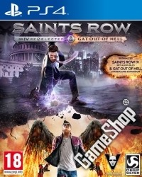 Saints Row 4 Re-elected uncut inkl. Gat Out of Hell DLC