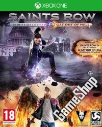Saints Row 4 Re-elected D1 uncut inkl. Gat Out of Hell DLC